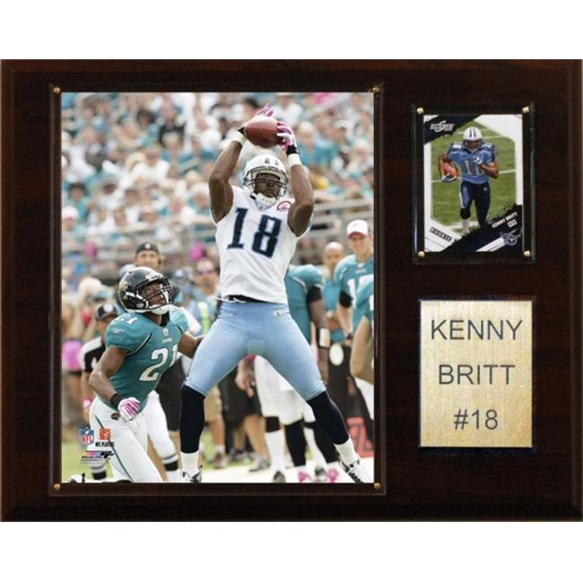 C-I-Collectables-1215BRITT-NFL-Kenny-Britt-Tennessee-Titans-Player-Plaque