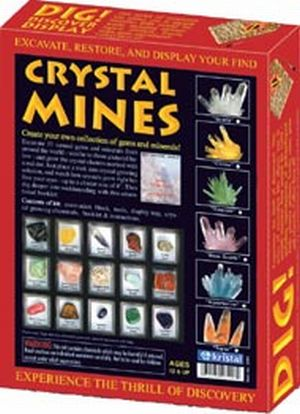 KRISTAL 32061 Dig! and Discover - Crystal Mines Quartz and Aquamarine