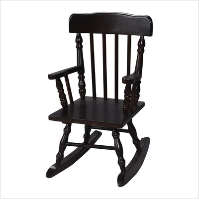 Giftmark 3100E Colonial Children's Rocking Chair Espresso