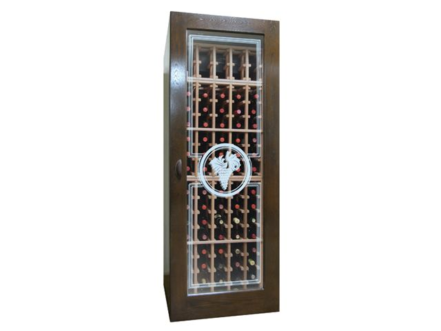 Vinotemp VINO-250-ETCHCON 250-ETCHCON Glass Door with Grape Style Etching at Sears.com