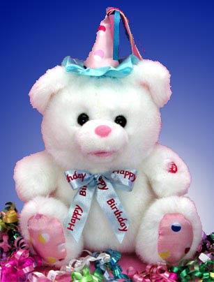 Singing Birthday Bear- 12001