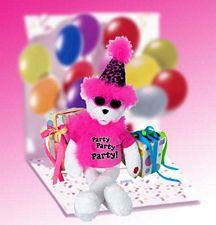 Плюшевая игрушка-погремушка 15 in. Get The Party Started Bear G1045