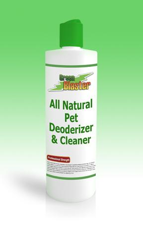 Green Blaster Products GBPDO16 All Natural Pet Deodorizer & Cleaner 16oz