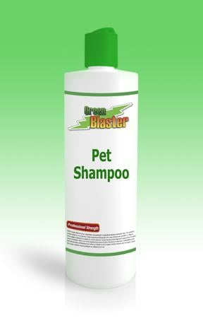 Green Blaster Products GBPS8 All Natural Deep Cleaning Pet Shampoo 8oz