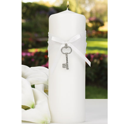 Hortense B. Hewitt 10871 Key To Your Heart Unity Candle