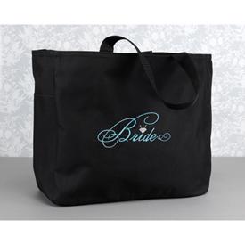 Black Tote Bag - Bride