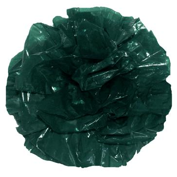 Wedding Star 244464 Just Fluff Colored Plastic Poms Package of 500 Poms Hunter Green