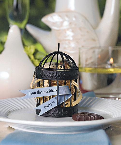 Wedding Star 9119 Miniature Classic Round Decorative Birdcages
