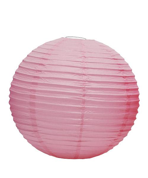 Wedding Star 9110-05 Round Paper Lanterns- Large- Pastel Pink