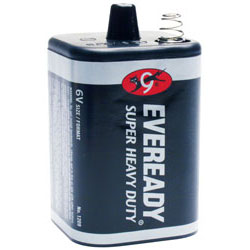 Eveready 1209 6v Super Heady Duty Lantern Battery