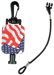 Hammerhead Industries RT24212 Mickeeper-CB Stars - Stripes Retract.
