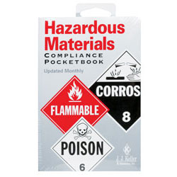 Jj Keller 15ORS Hazardous Materials Pocket Guide