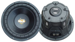 "Lanzar MAXP84 8"" Subwoofer/Small Enclosure /4 Ohm /800 Watt/ Max Pro"