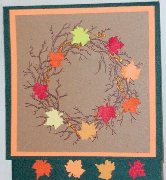 Alvin&Co SSH-3302 Vine Wreath Stamp