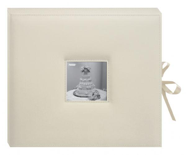 Alvin SBX12W 3ring Scrapbookinbox Wed Ivory