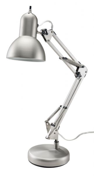 Alvin FD206ST Lamp- Architect Steel 60 Watt