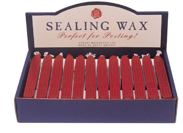 Alvin MSH760BRWD Sealing Wax Red Disp-36