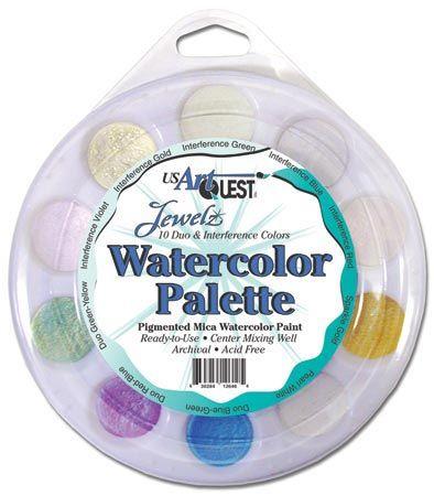 Alvin AQPRL802 Watercolor Palette Duo & Inter