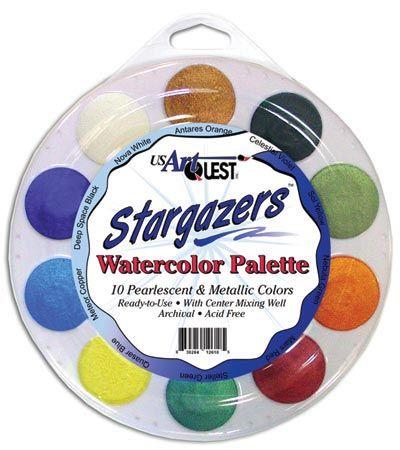 Alvin AQPRL803 Watercolor Palette Stargazers