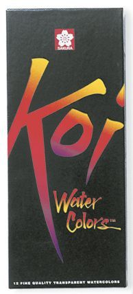 Alvin 15261 Koi Watercolor 12 Ml Set-12