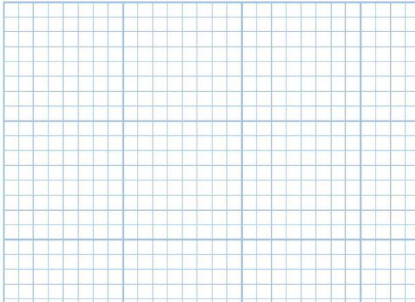 Alvin 1422-15 Paper Cross Sec 17x22x10 Pad