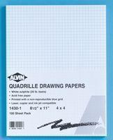 Alvin 1430-10 Paper Quad 11x17x10 100-pkg