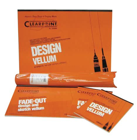 "Alvin&Co CP10101160 42"" x 20"" Vellum Yards Fiber Media Good for Pencil or Ink"