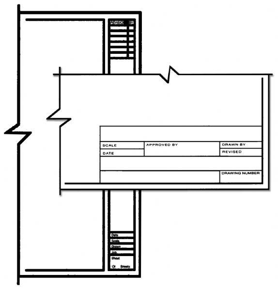 Alvin CP10221510 Std Title Blk 8.5x11 100 Shts