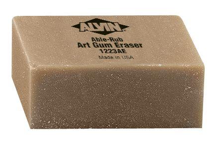 Alvin 1223AE Art Gum Eraser Large 12-bx