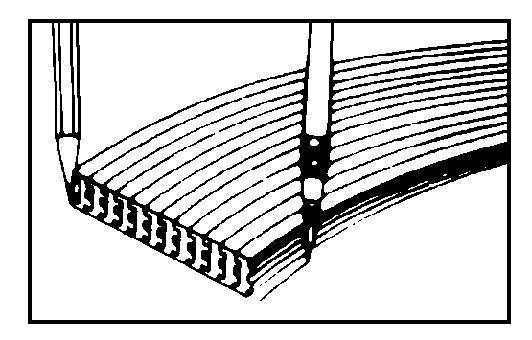 Alvin 1033-48 Adjustable Curve 48 In