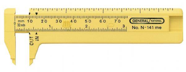 Alvin G141ME Pocket Caliper Plastic 3