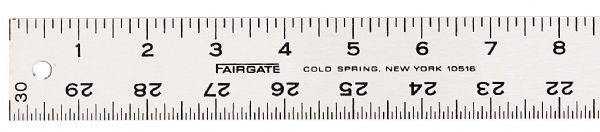 Alvin 1005-48 Straight Edge Grad Alum 48in