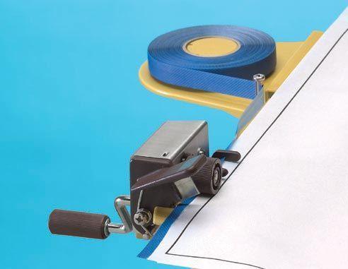 Alvin 121WT Threaded Edging Tape-white