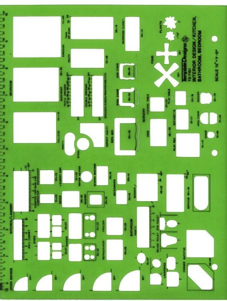 Alvin TD7161 Temp. Interiors-kit Bath B