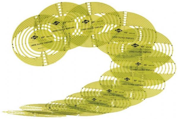 Alvin 3903-96 Temp. Ellipse - Set Of 12