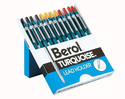 Alvin & Company Alvin E10CD Berol Turquoise Lead Holder- BLACK ONLY at Sears.com