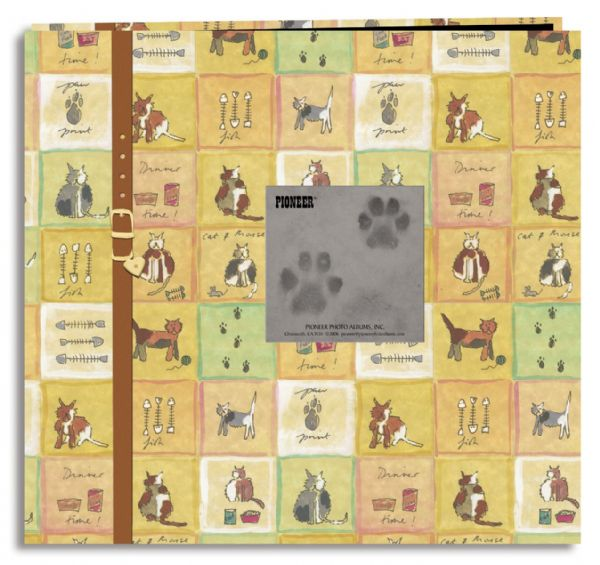 Alvin MB10PET-CAT Cat 12x12 Scrapbook W-frame