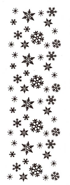 Alvin SSH-3417 Stamp Snowflake Border