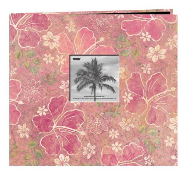 Alvin MB10TRPH 12x12 Postbnd Album Hibiscus