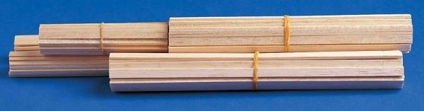 Alvin BS1022 Balsa Strips 3-32x3-32 Pk-40