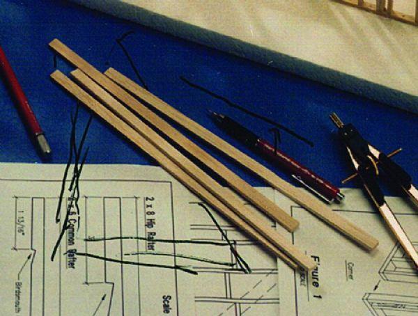 Alvin BS1024 Balsa Strips 3-32x3-16 Pk-40