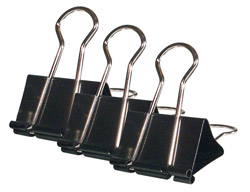 Roadpro RPO-02007 Binder 1.25 Clips 3pk