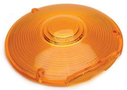 Roadpro RP-9016A-1 4 Replacement Lens 3 Screw Single Amber