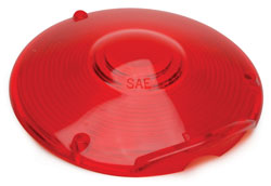 Roadpro RP-9016R-1 4 Replacement Lens 3 Screw Red Single