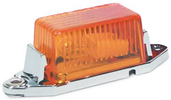Roadpro RP-107A 1.75 x 1 Mini Light with Replaceable Bulb and Lens - Amber