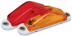 Roadpro RP-1247A Clearance Marker Slim-lt Amber