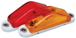 Roadpro RP-1247R Clearance Marker Slim-lt Red