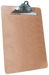 Roadpro RPO-01282 Clipboard 9x12 Masonite