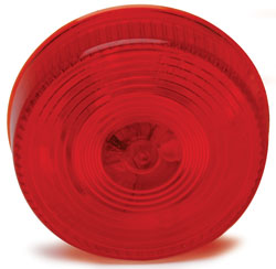 Roadpro RP-1010R Round Sealed Mkr Lgt 2 1 - 2 Red