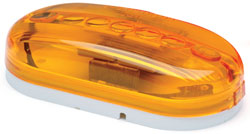 Roadpro RP-1259A 4x2 Cateye Light - Amber